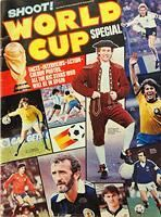 World Cup Special Brochure - Carter Collectables - Shoot! World Cup Special, England, Scotland, Northern Ireland 1982 World Cup, World Cup Final, Northern Ireland, Ephemera, Scotland, England, Football, Baseball Cards, Sports