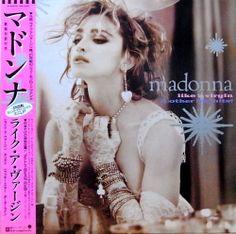 MADONNA / LIKE A VIRGIN ライク・ア・ヴァージン (12'')日本のみ4曲入りミニアルバム!