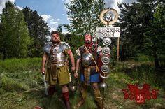 Legio XXI Rapax - historical reenactment of roman legion. Rekonstrukcja historyczna rzymskiej armii.