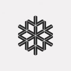 A new geometric design every day - Logos Shape Design, Icon Design, Pattern Design, Geometric Logo, Geometric Designs, Op Art, Isometric Shapes, Mini Mundo, Logo Luxury