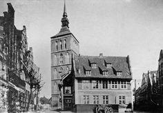 Historisches Rostock, Nikolaikirche, Archiv Helmut Aude