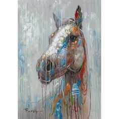 Found it at Wayfair - Happy Horse Painting Print on Canvas