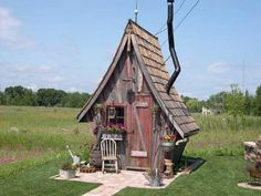 Garden Style: Fairy Tale Sheds from Rustic Way