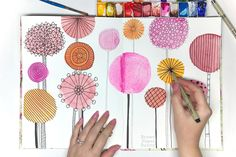 Lisa Congdon Creative Bootcamp on CreativeBug - so many fun art exercises to get your warmed up and your creativity flowing!