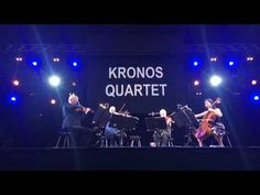Kronos Quartet - Premiéra skladby venovanej Jánovi Kuciakovi a Martine Kušnírovej - YouTube Mafia, Youtube, Concert, Concerts, Youtubers, Youtube Movies
