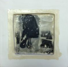 Isabella Bigos - From The Mountain To The Sea 2 - Encaustic on clay