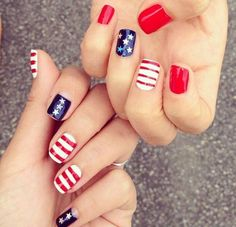 #prom world-cup-2014-nail-art-6