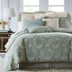 Royal Velvet® Azure 4-pc. Chenille Comforter Set & Accessories  found at @JCPenney