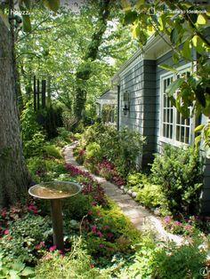 Çok güzel bir bahçe....