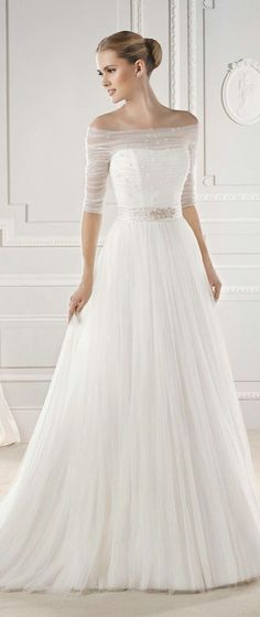Simple Wedding Dresses with Delightful Elegance