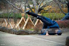 Stock Photo : Breakdance Asian style
