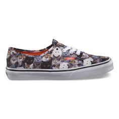 d0f584d7fb OH MY GOD! I have to have these!! ASPCA Authentic Vans Cat Shoes