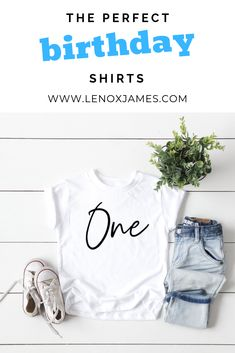 Ideas for party kids outfit birthday shirts