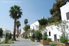 Typical white Bodrum houses...