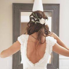 robe de mariée dos nu #backless #weddingdress                                                                                                                                                                                 Más