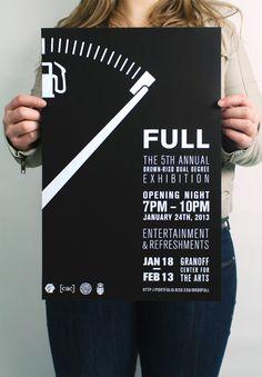 FULL: Branding – Hannah Koenig & Rachel Ossip by FULL: The 5th Annual BRDD Exhibition , via Behance