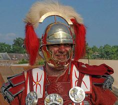 Roman legionary centurion.  A centurion (also hekatontarch) was a professional officer of the Roman army after the Marian reforms of 107 B.C. Most centurions commanded 80 men but senior centurions commanded cohorts, or took senior staff roles in their legion. Centurions were also found in the Roman navy.