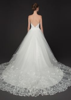 Fashion-Forward Winnie Couture Wedding Dresses 2014 Blush Collection. To see more: http://www.modwedding.com/2014/01/24/winnie-couture-wedding-dresses-2014-blush-collection/ #wedding #weddings #fashion