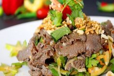 Cách làm Gỏi bò đơn giản tại nhà   Món ngon mỗi ngày Beef, Recipes, Drink, Food, Meat, Beverage, Essen, Meals, Eten