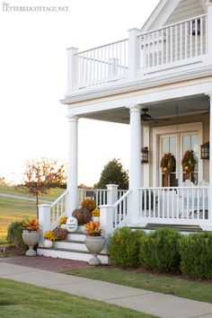 love the idea of a two level deck. maybe the other one could open out of the master bedroom?