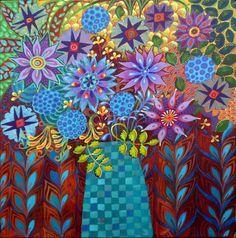 A Brand New Day (2016) Acrylic painting by Imogen Skelley   Artfinder