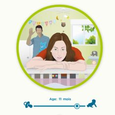 See the world through a newborn baby's eyes with our baby sight simulator! Educational tool developed by opticians. Baby Co, Our Baby, Baby Baby, 1 Month Old Baby, Baby Vision, Baby Eyes, Baby Mine, Thing 1, Babe