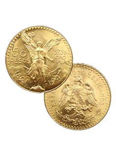 #Gold Mexican 50 Pesos http://www.gainesvillecoins.com/buy-gold.aspx