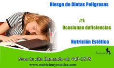 Riesgo de Dietas Peligrosas: #1. Nutricionistas de Nutricion Estetica   http://nutricionylaestetica.blogspot.com/2012/08/nutricionistalima.html