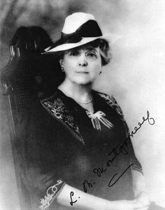 L. M. Montgomery, author of Anne of Green Gables