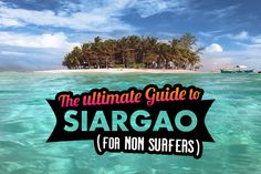 "Siargao is known as the ""Surfing Capital of the Philippines"", but you don't need to be a surfer to enjoy the beautiful scenery and natural attractions on the island..."