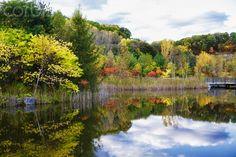 Autumn in the Weston Family Quarry Garden, Evergreen Brick Works; Toronto, Ontario, Canada