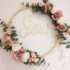 Diy Birthday Decorations, Bridal Shower Decorations, Wedding Decorations, Faux Flowers, Paper Flowers, Diy Crafts For Girls, Floral Hoops, Deco Floral, Diy Wreath
