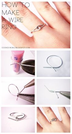 Cooki's World: Wire Rings