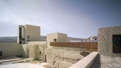 Preciosa recuperación histórica. La madera acerca a los visitantes al Castillo de Baena