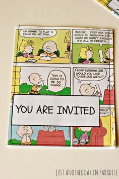 Just Another Day in Paradise: A Pinteresting Wednesday: Charlie Brown Party Invites