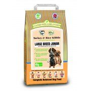 James Wellbeloved Junior Large Breed Dog Food with Turkey and Rice