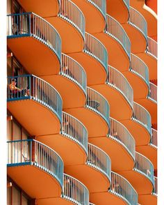 Balcony - orange and turquoise architectural detail - lovely patternThe Balcony (disambiguation) The Balcony is a play by Jean Genet. The Balcony may also refer to: