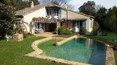 La Capelle-et-Masmolène vacation villa rental - Rustic Houses, Vacation Villas, Midi, Swimming Pools, Home And Garden, France, Outdoor Decor, Environment, Pools