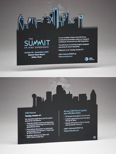 We made these black acrylic invitations for an AT&T event.  Design by: @jacknadelinternational #acrylic #invitations #corporate #business #specialevents #unique #classy #memorable #USAmade