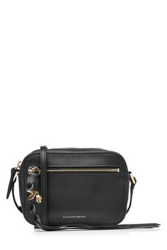New Alexander McQueen Leather Shoulder Bag with Skull Charm fashion online. [$611]>> offer from shophandbags<<