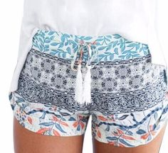 Summer Shorts with  Tassel (2 colors)