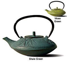 Old Dutch Tetsubin Cast Iron 'Sakura' Teapot | Overstock.com Shopping - The Best Deals on Tea & Coffee Sets
