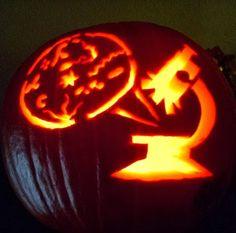 Medical Laboratory Halloween Pumpkins -  Amazing artwork by medical laboratory professionals