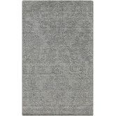 Found it at Wayfair - Etching Gray Area Rug