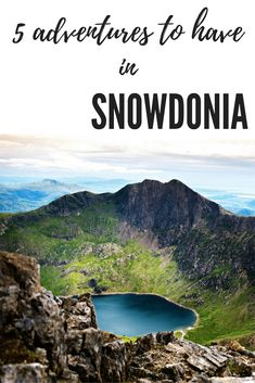 5 things to do in Snowdonia in Wales. This Welsh National Park is full of fun activities and adventures come rain or shine. Try an underground trampoline park or climb a mountain the choice is yours in Snowdonia! Cardiff, Places To Travel, Places To See, Destinations D'europe, Le Vermont, Snowdonia National Park, Reserva Natural, Parc National, Lake District
