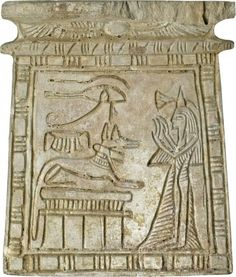 Ancient Egyptian pectoral featuring Anubis. (Walters Museum)