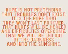 En daar hoop ik op