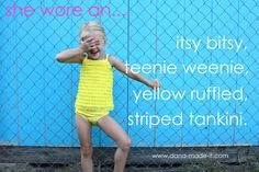 Little Yellow Swimsuit
