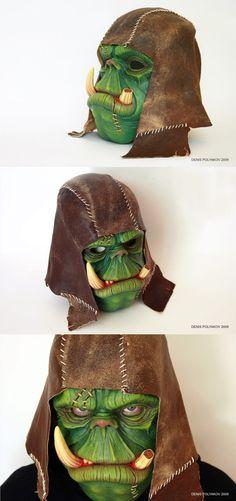 Orc mask by ~DenisPolyakov on deviantART