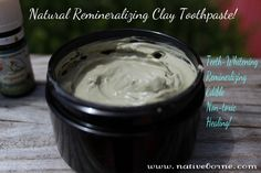 DIY toothpaste with xylitol